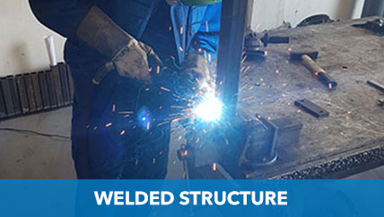 WELDED STRUCTURE