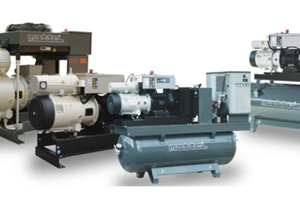 Direkthajtású rotációs kompresszorok, ERC széria.