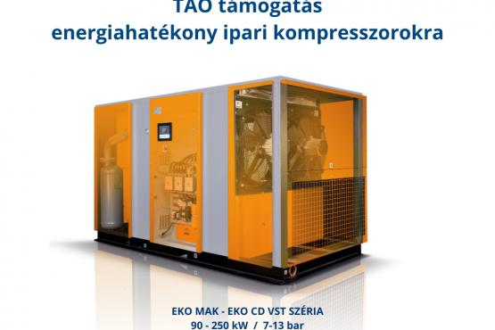 Energia és költség megtakarítás együttesen a GANZAIR támogatásával!